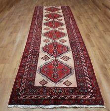 Persian Traditional Vintage Wool 363cmX110cm Oriental Rug Handmade Carpet Rugs