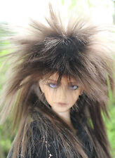 Dollfie bjd SD Wig peluca Star size 8-9 Brown Black/Chesnut Brown