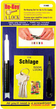 Prime-Line  Re-Keying Kit  For Use With Schlage Brand 5-Pin Locks