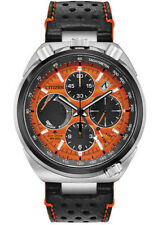 Citizen AV0078-04X Promaster Tsuno Men Wristwatch - Silver/Orange