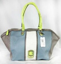 "GUESS ""KATIANA"" Multi-color Faux Leather Satchel Shoulder Bag Msrp $128.00"