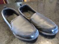 Safe T Step Comfort Shoes Women's Size 11 Black Slip On