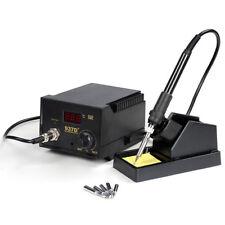 937D+ Iron Soldering Station ESD 60W Rework Digital Welding Tool Welder 5 Tips