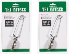 "2 pack Spoon Type Stainless Steel Infuser Teaspoon 6-1/4"" By Harold'S Kitch"