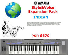 YAMAHA PSR S670 Indiano pacchetto di espansione