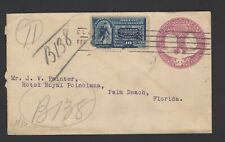 Old cover 1901 United States Specil Delivery