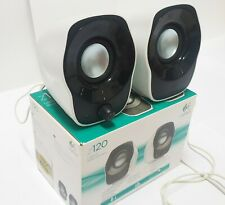 Logitech z120 2.0 USB Powered Stereo Speaker Review Black & white