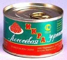 Best Quality Russian Salmon Red Caviar (45 gr / 1.6 oz) can - USA Distributor
