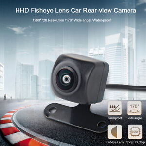 170° Angle HD Fisheye Lens Reversing Backup Camera for Universal Rear View Cams