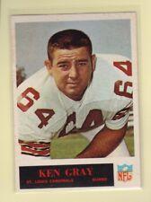 1965 Philadelphia Football Ken Gray #162 Cardinals Vg/Vgex *62437