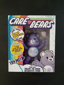 Care Bears 2020 Purple Share Bear Interactive Figure 50+ reactions and surprises