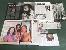 MARVIN GAYE - POP MUSIC  - CLIPPINGS /CUTTINGS PACK