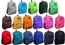 New Solid Color / Emoji School Backpack, Travel Backpack, Hiking Bag, Book Bag