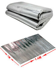 Car AutoTurbo Exhaust Muffler Insulation Hood Fiberglass Cotton Heat Shield Mat