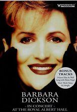 Barbara Dickson in concert at the Royal Albert Hall. New DVD