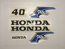 Honda 40 hp 4-Stroke Outboard Decal Kit - USA free fast shipping fourstroke