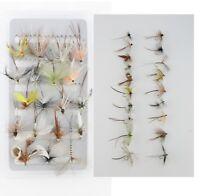 Mayflies - (Free Box) Assortment - Wet Flies - Trout Fishing
