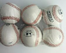 6 PACK RAWLINGS OFFICIAL LEAGUE CROLB BASEBALL BALLS NEW ORIGINAL Solid Cork 5oz