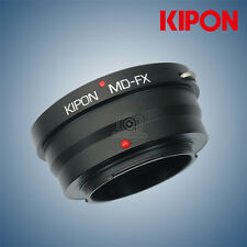New Kipon Adapter for Minolta MD Mount Lens to Fuji X-Pro2 X-T2 Fujifilm Camera