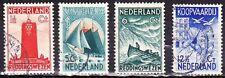 1933 zeemanszegels complete serie NVPH 257 / 260 gestempeld