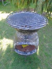 brasero mexicain a feu de bois a 2 étages barbecue , nouveau ! voir annonce !!!