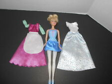 Barbie Cinderella Doll with New Gown and Dress Disney