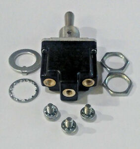 Honeywell Microswitch 1TL1-1 SPDT Center OFF Toggle switch