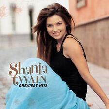 SHANIA TWAIN (GREATEST HITS CD SEALED + FREE POST)