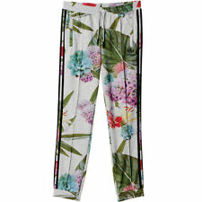 Full Length Floral Plus Size Trousers for Women
