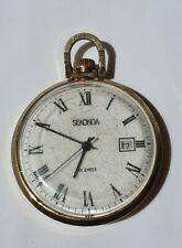 Soviet USSR Pocket Watch SEKONDA 19 Jewels gilding