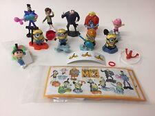 KINDER Sorpresa Minion 3 desicable Me Toys Ltd Edition Set 10 BPZ 2017 RARA