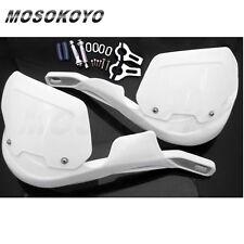 "White Brush 7/8"" Hand Guards Heightening 22mm Handlebar For CRF RM EXC KX YZ"