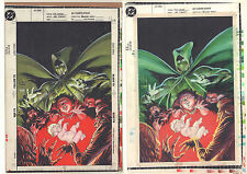 Ragman: Cry of the Dead #1 Cover Proof with Color Art of Joe Kubert Cover - 1993