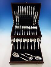 Young Love by Oneida Sterling Silver Flatware Set for 8 Service 51 Pieces