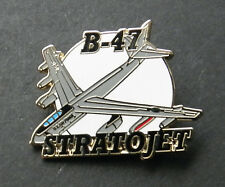 STRATOJET B-47 BOMBER USAF AIR FORCE AIRCRAFT LAPEL PIN BADGE 1.5 INCHES BOEING