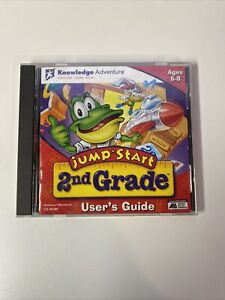 Jump Start Learning System 2nd Grade PC CD-ROM Game Knowledge Adventure Ages 6-8