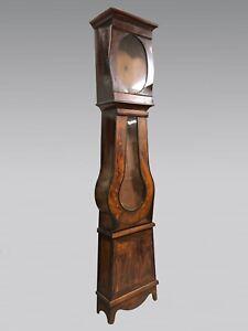 Caisse d'horloge Napoléon III en sapin