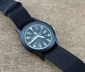 MONTRE SMITH&WESSON BLACK FACE MILITARY Watch - SWW1464BLK