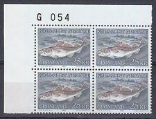 Greenland 1981 Mi 129 Sc 140 MNH Greenland Codfish Gadus Ogac Cod fish 08