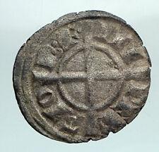 12838AD ITALY Kingdom of SICILY King FREDERICK II Holy Roman Empire Coin i80416