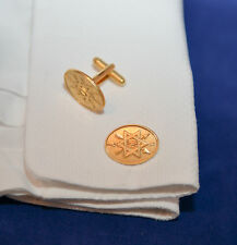ORDER of the SECRET MONITOR CUFFLINKS - MASONIC
