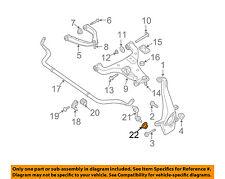 NISSAN OEM Stabilizer Bar-Front-Stabilizer Link Nut 54588AD00A