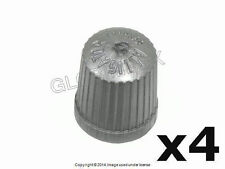BMW and MINI TPMS Wheel Valve Stem Cap Gray (set 4) HOFMANN + 1 year Warranty