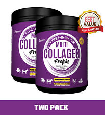 PREMIUM Multi-Collagen Protein Powder 2 PACK Best Value - High-Quality Blend