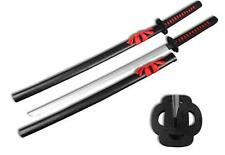 Wooden Training Practice Samurai Katana Sword with Scabbard Cosplay Weapon