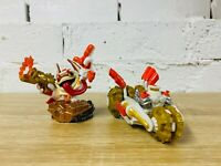 Double Dare Trigger Happy Gold Rusher Superchargers Skylanders Lot