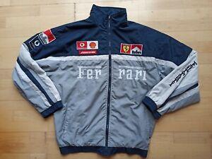 Vintage Ferrari Michael Schumacher Team Racing Jacket Jacke F1 Reversible XXL