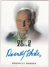 DEAD ZONE SEASONS 1 AND 2 DONNELLY RHODES COLONEL HALSEY AUTOGRAPH BATTLESTAR G