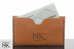 Ned Kelly® Brown  Kangaroo leather Card Wallet