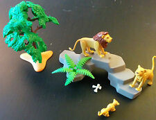 Playmobil 3239 Lion Pride Zoo Bone Lioness (2003) Play Set Lion Family
